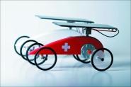Solar Rennwagen. Mouvelette