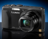 Digitalkamera Lumix TZ41. Mit 20-fach-LEICA Zoom-Objektiv und 8 GB Speicherkarte.