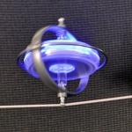 Akrobatischer Kreisel. Made in Italy.