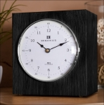 Horaculix HC1. Bausatz Luxus-Uhr. Eiche schwarz.