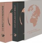 Weltatlas - Der Atlas der Welt, Die Welt der Rekorde - 2 Bände im Geschenkschuber.