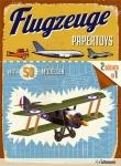 Papertoys: Flugzeuge.