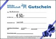 Wissenschaft-Shop Gutschein 50 €