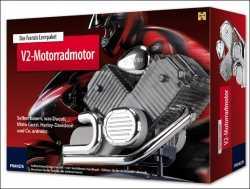 Motorrad-Motor. Lernpaket V2-Motor