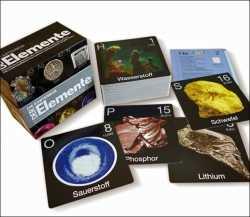 Die Elemente-Kartenbox