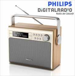 Philips tragbares Digitalradio