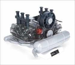 PORSCHE 6-Zylinder-Boxer-Motor. Bausatz Funktionsmodell.