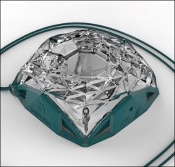Little Sun Diamond Solar-Lampe.