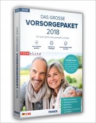 Das große Vorsorgepaket 2018. CD-ROM.