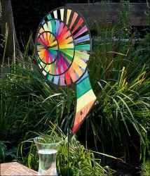 Magic Wheel Triple Banner Rainbow - HQ Windspiel.