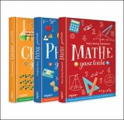 Buchpaket: Chemie, Physik, Mathe - ganz leicht!