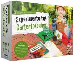 Geschenkidee: Die große Entdeckerbox: Experimente für Gartenforscher