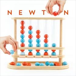 Newton. Taktikspiel für 2 Personen.