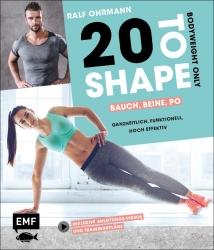 20 to Shape – Bauch, Beine, Po – Bodyweight only