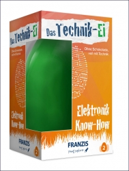 FRANZIS Technik-Ei. Elektornik Know-how.