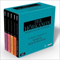 Der Hörkanon - ausgewählt von Reich-Ranicki!