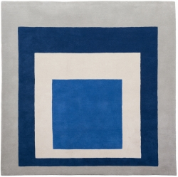 Josef Albers: Bauhaus Teppich Homage to the square.