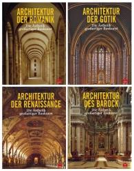Baukunst-Paket: Romanik, Gotik, Renaissance und Barock.