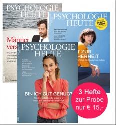 Psychologie Heute. Kennenlern-Abo.