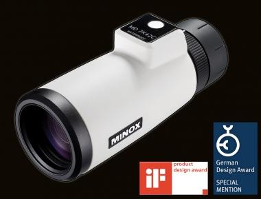 Minox Ferngläser Mit Entfernungsmesser : Bild der wissenschaft shop minox md c kompass monokular