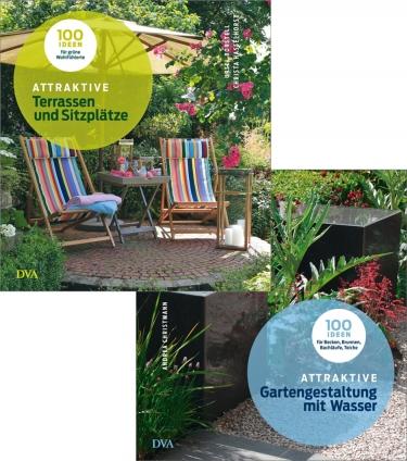 Attraktive Gartengestaltung.