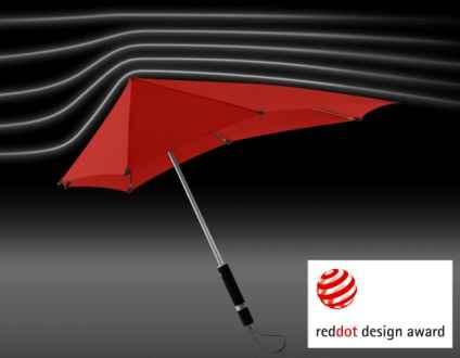 Sturm-Schirm rot. Wieder da!
