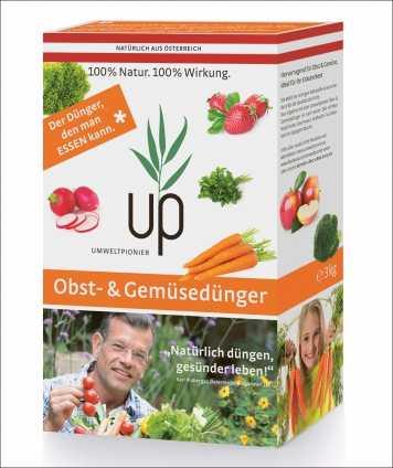 up-Obst & Gemüse Dünger. 10er-Set
