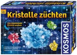 Kristalle züchten. KOSMOS Experimentierkasten.