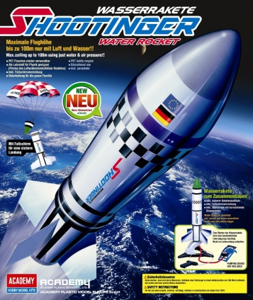 Wasser-Luft-Rakete Shootinger