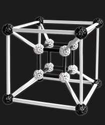Zometool Konstruktions-Set. Design 5.