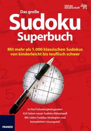 Das große Sudoku Superbuch
