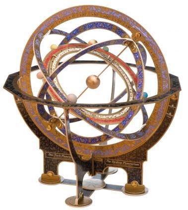 Tisch-Planetarium. Ein himmlischer Bausatz