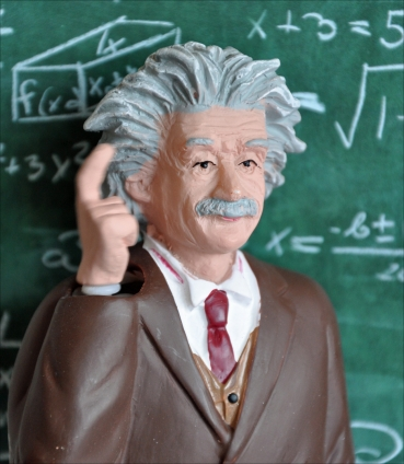 Einstein Solarfigur.