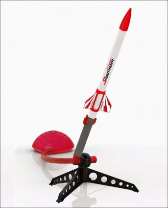 Druckluft Rakete