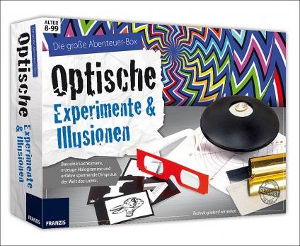 Optische Experimente und Illusionen. Die große Abenteuer-Box