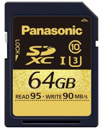 Panasonic 64GB SD Speicherkarte RP-SDUD64.
