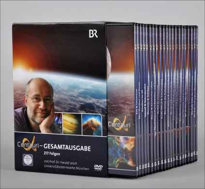 Prof. Dr. Harald Lesch: Alpha Centauri. DVD-Komplettbox.