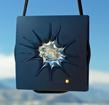Little Sun Charge. Solar-Ladestation. Design Olafur Eliasson