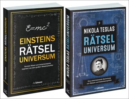 Einsteins Rätseluniversum PLUS Nikola Teslas Rätseluniversum.