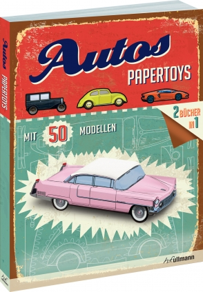 Papertoys: Autos.