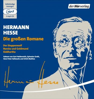 Hermann Hesse. Die großen Romane. Hörbuch-Box.