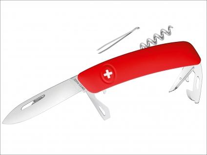SWIZA Taschenmesser rot.