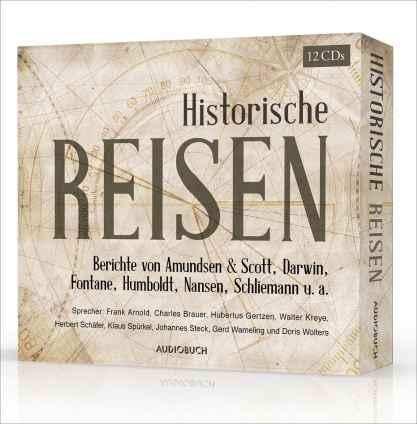 Historische Reisen. 12 CDs Hörbuch-Box.