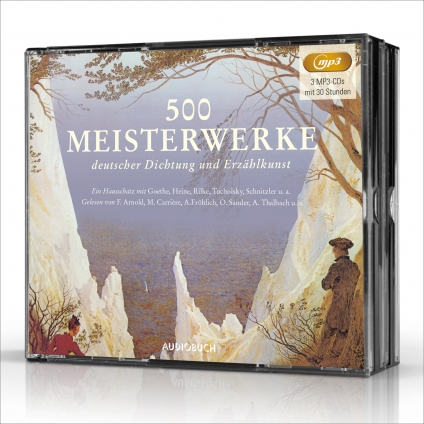 500 Meisterwerke deutscher Dichtung.