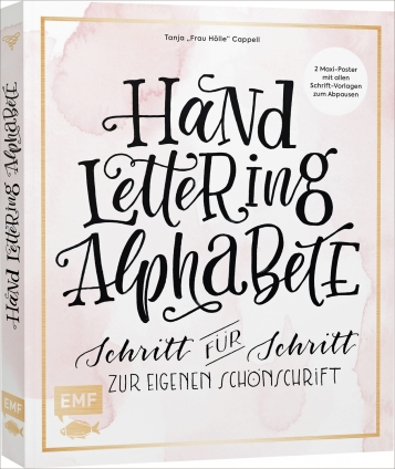 Handlettering Alphabete.