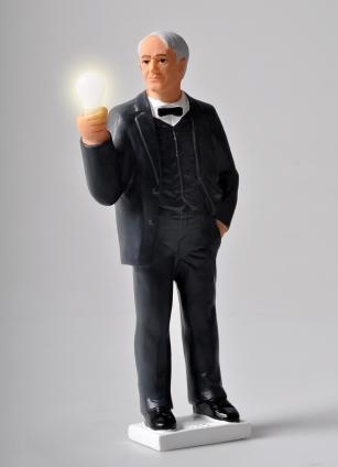 Edison Solarfigur.