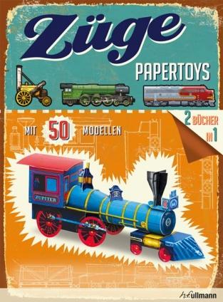 Papertoys: Züge.