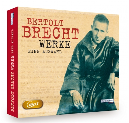 Bertholt Brecht - Werke. 2 mp3-CDs Hör-Edition.
