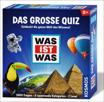 WAS IST WAS: Das große Quiz. Entdeckt die ganze Welt des Wissens!