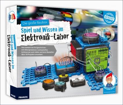 Die große Baubox - Elektronik-Labor.